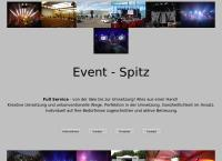 Website von Event-Spitz